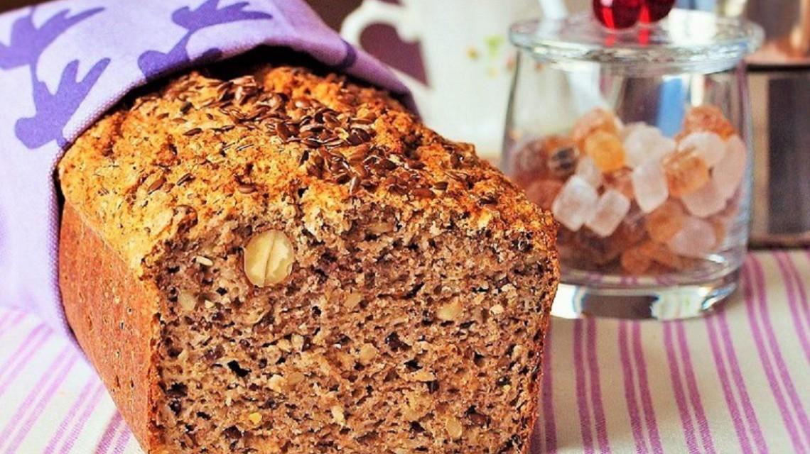 Chleb z gryką i pęczakiem, czyli...