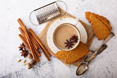 Herbata z mieszanką chai masala