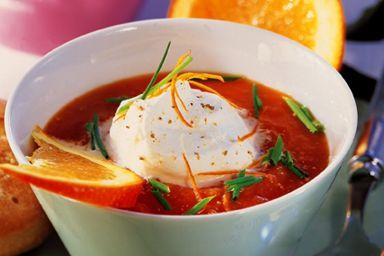 Zupa pomidorowo-pomarańczowa