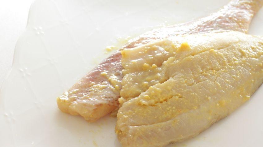 Zapiekany filet z karmazyna w szpinaku