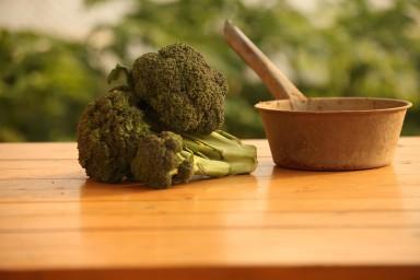 Brokuły z serem zapiekane