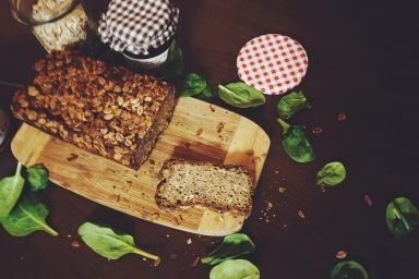 Chleb na zakwasie ze stewią