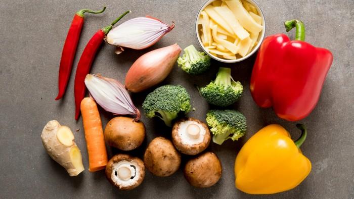 Warzywa z woka - krok 1