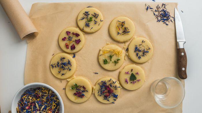 Ciasteczka z kwiatami - krok 3