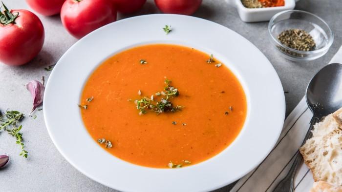 Zupa krem z pieczonych pomidorów - krok 3