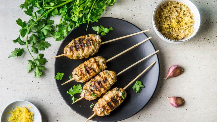 Kofta kebab z cytrynową komosą ryżową - krok 4