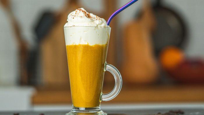 Dyniowa latte - krok 4