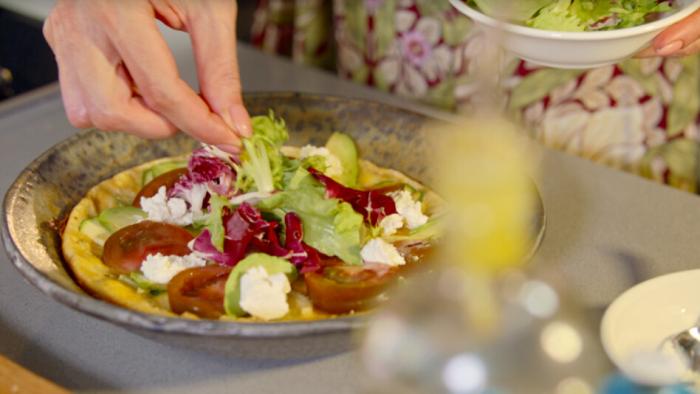 Omlet zero waste - krok 2