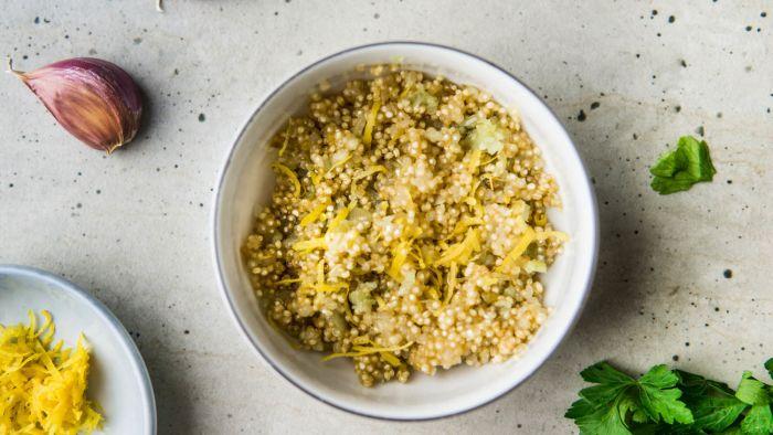 Kofta kebab z cytrynową komosą ryżową - krok 1