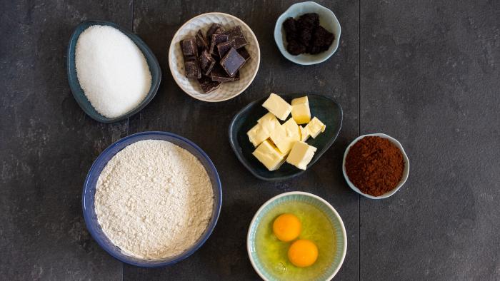 Ciasteczka czekoladowo-kawowe na fusach - krok 1
