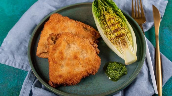 Kotlet szwajcarski z serem i pesto jarmużowym - krok 3