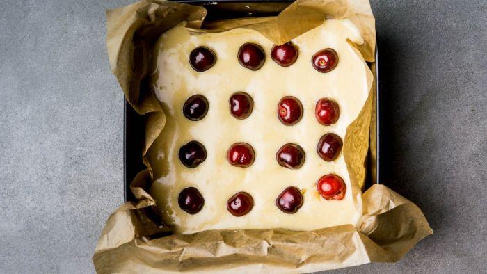 Ciasto z czereśniami - krok 2