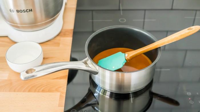 Domowy solony karmel - krok 2