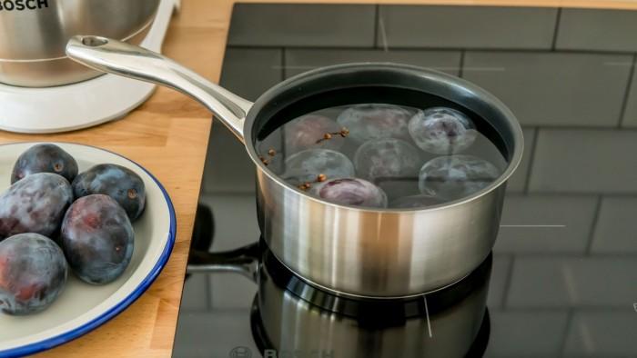 Śliwki marynowane - dodatek do mięs   - krok 3