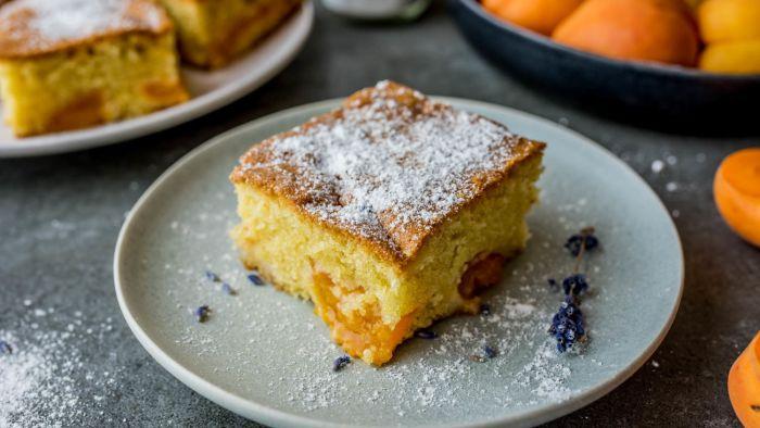 Ciasto z morelami - krok 4