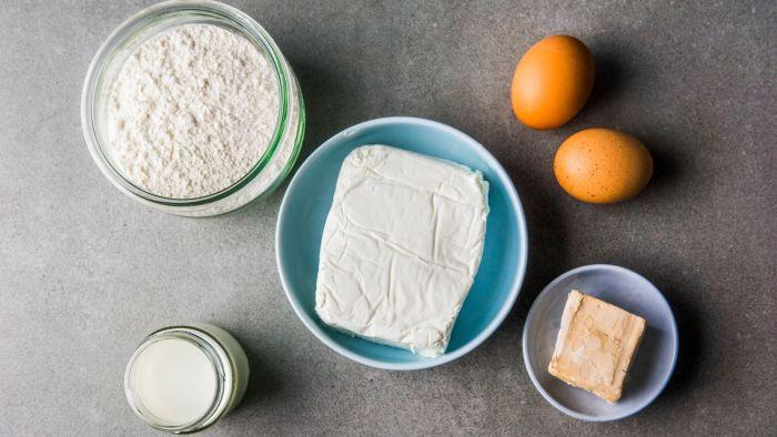 Drożdżówki z serem - krok 1