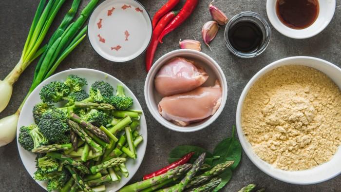 Kurczak po chińsku - krok 1