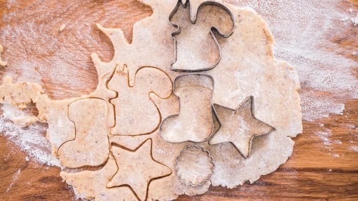 Świąteczne ciastka migdałowe - krok 1