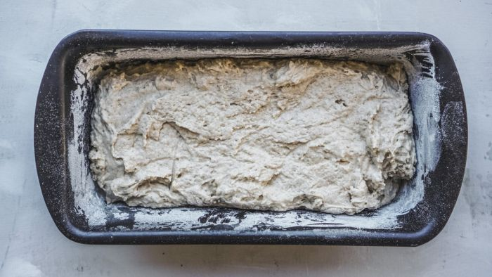 Najłatwiejszy chleb żytni na zakwasie - krok 2