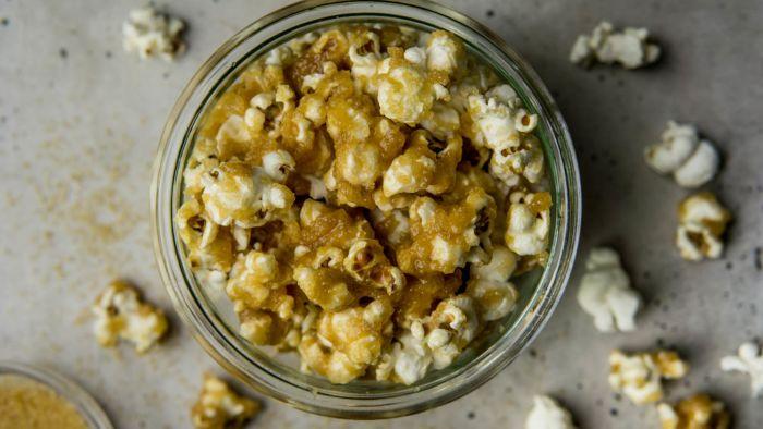 Popcorn karmelowy - krok 3