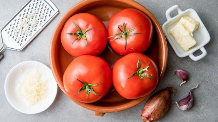 Pomidory pieczone - krok 1