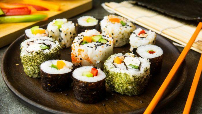 Wegetariańskie sushi - krok 4