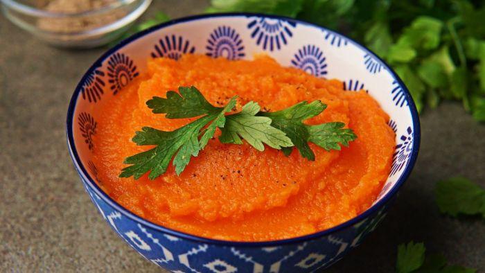 Puree z marchewki - krok 4
