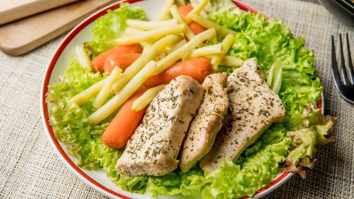 Schab w sosie orientalnym z warzywami - krok 4