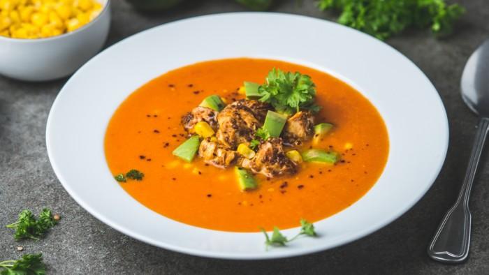Meksykańska zupa z kurczakiem - krok 5