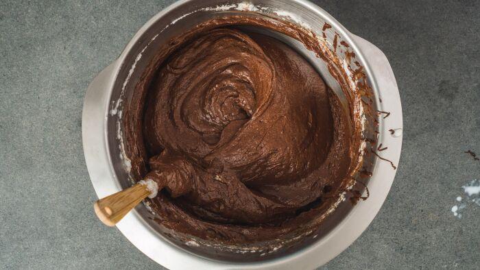 Ciasto czekoladowo-kasztanowe - krok 2