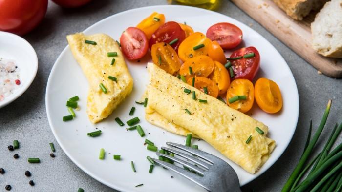 Szybki omlet - krok 3