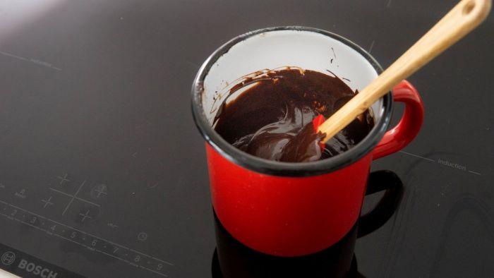 Suflet czekoladowy - krok 1
