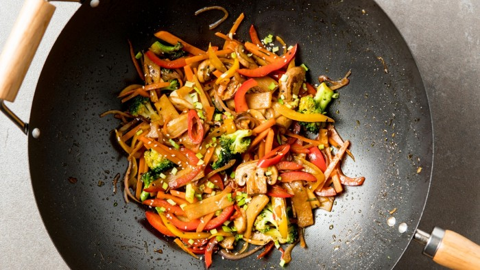 Warzywa z woka - krok 5
