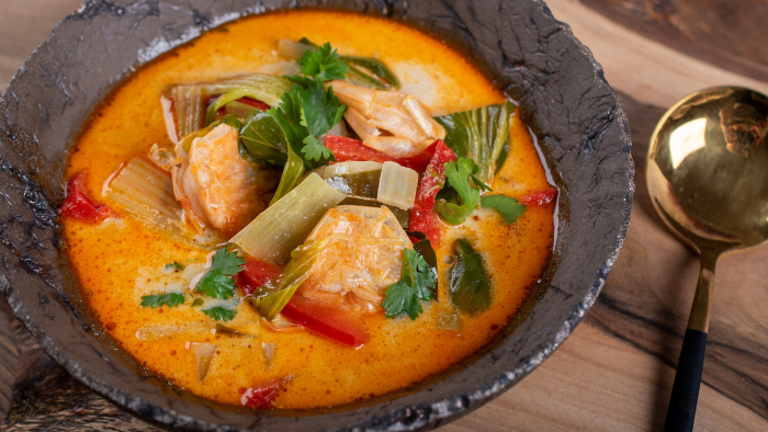 Czerwone curry z krewetkami - krok 3