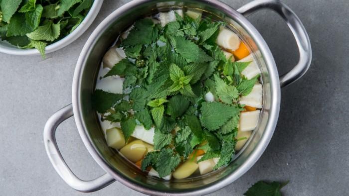 Zupa z pokrzywy - krok 2