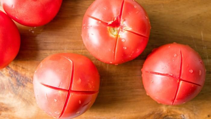 Konfitura z pomidorów  - krok 1