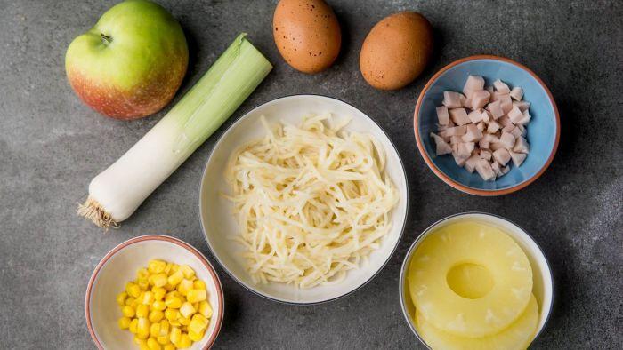 Sałatka z selera konserwowego - krok 1