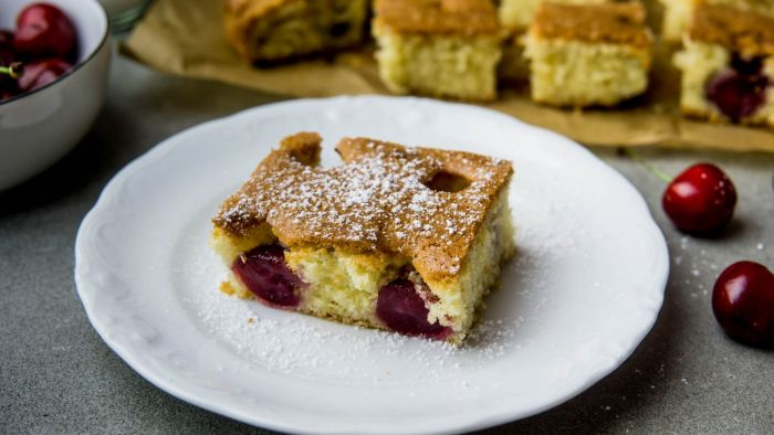 Ciasto z czereśniami - krok 4