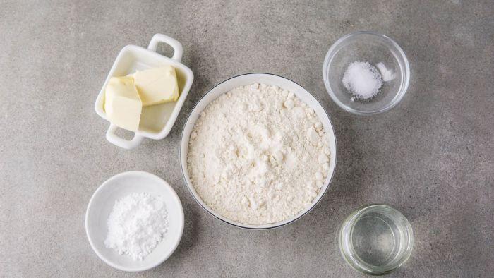 Kruche ciasto bezglutenowe - krok 1