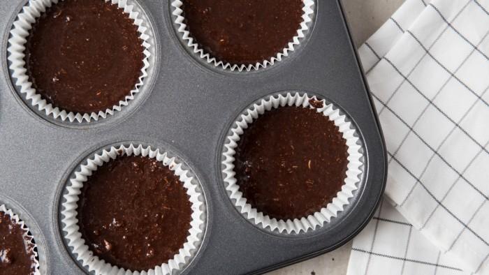 Kokosowo-czekoladowe fit muffinki - krok 3