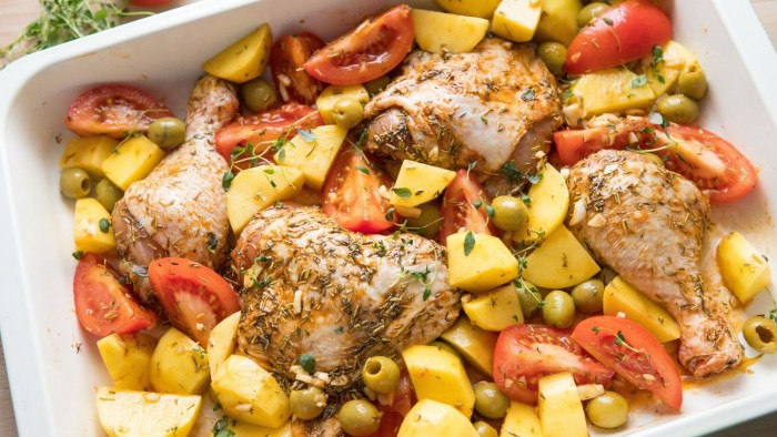 Kurczak pieczony z ziemniakami - krok 2