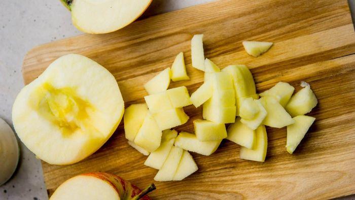 Racuchy z jabłkami - krok 2