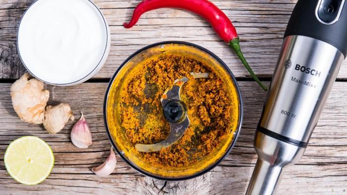 Szaszłyki z kurczaka curry - krok 2