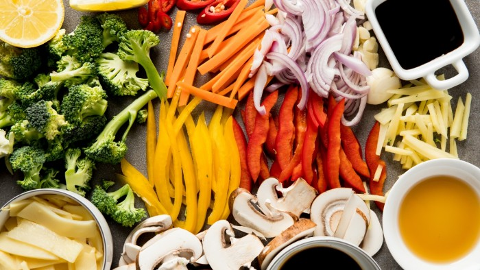 Warzywa z woka - krok 2