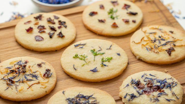 Ciasteczka z kwiatami - krok 5