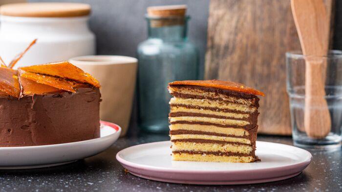 Tort Dobosza - krok 4