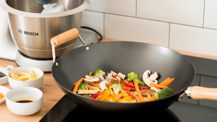 Warzywa z woka - krok 3