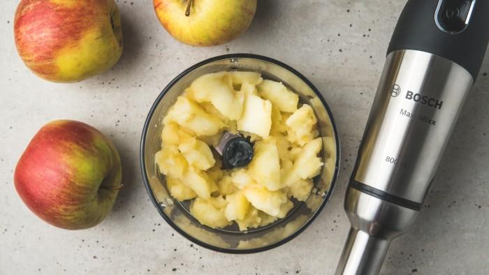 Mus jabłkowo-rumowy - krok 2