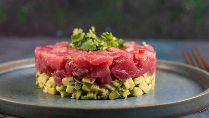 Tatar z tuńczyka - krok 2