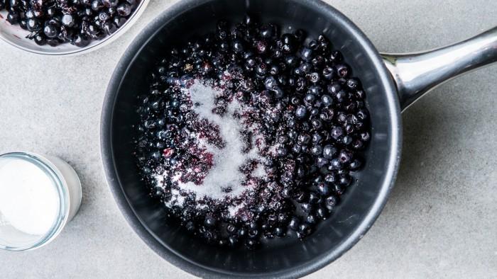 Dżem jagodowy - krok 2